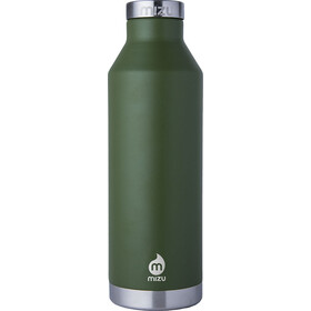 MIZU V8 Drinkfles with Stainless Steel Cap 800ml groen